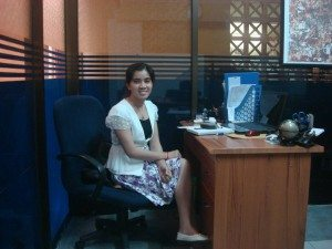 khmer skype office worker