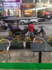 moto rides through cambodian monsoon