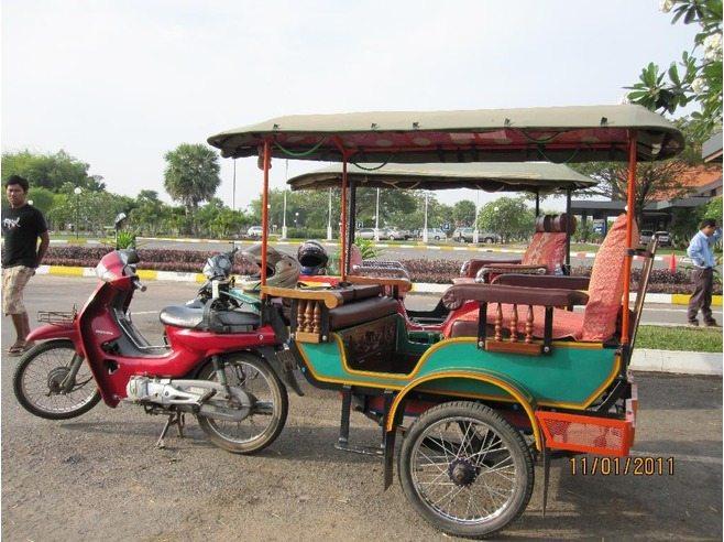 Tuk Tuk Rates In Phnom Penh