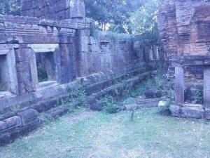 Phnom Chisor temple ruins