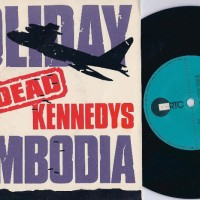 cambodia dates with album cover of dead kennedys